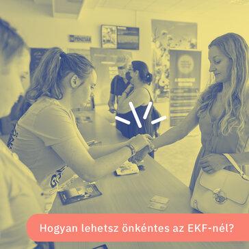 Csatlakozz az EKF önkénteseihez!